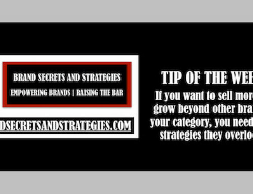 If you want to sell more and grow beyond other brands in your category, you need to use strategies they overlook!