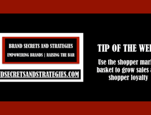 Use the shopper market basket to grow sales and shopper loyalty